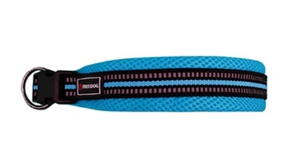 Picture of FREEDOG COLLAR SOFT SPORT BLUE 15MM
