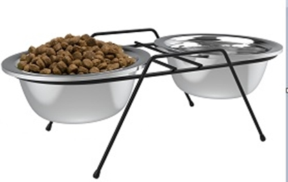Picture of FREEDOG ELEVATED DOG BOWL