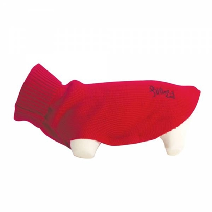 Picture of DOGGY PULL FUN STAR  RED 26CM