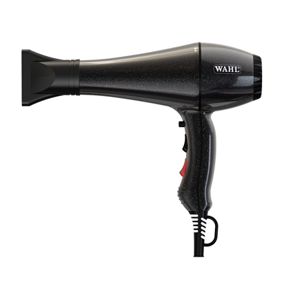 Picture of WAHL HAND DRYER LIMITED EDITION BLACK WITH GLITTER