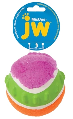 Picture of JW Mixups Ribbed Ball L 10 cm