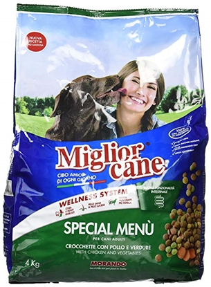 Picture of MIGLIOR CANE CHICKEN & VEGETABLES 4KG DRY FOOD